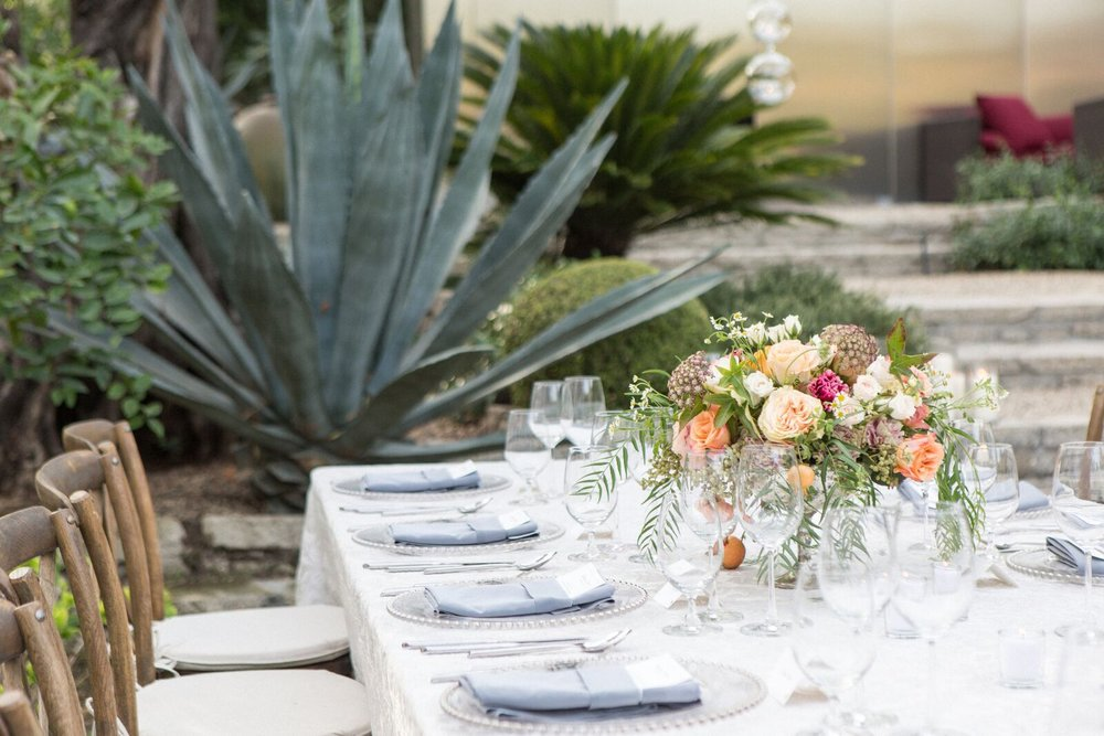 Intimate Private Estate Wedding, Los Feliz