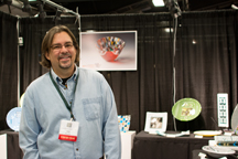 Mark at the 2014 CDCG show.