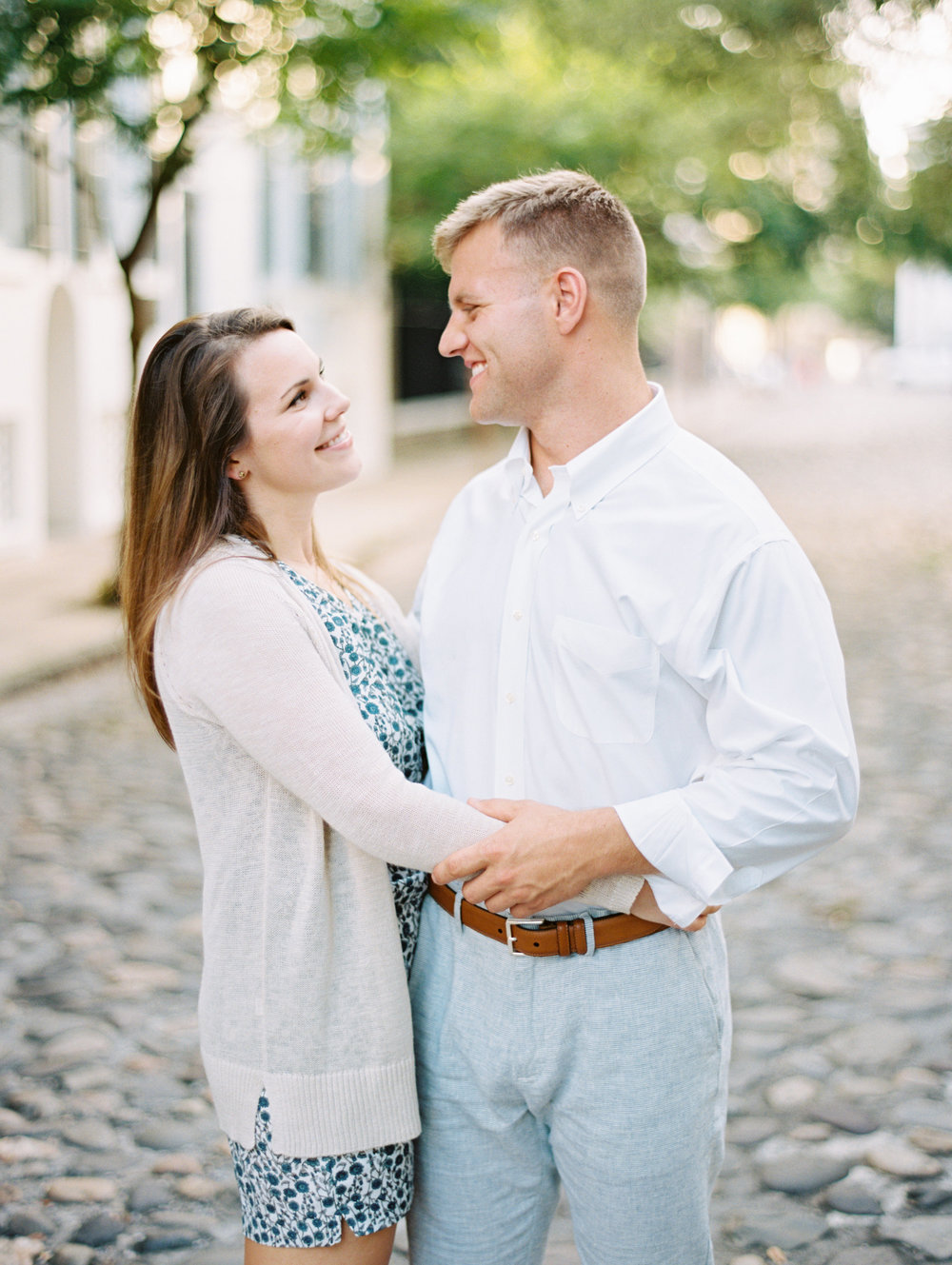 Downtown Charleston SC Engagement Session