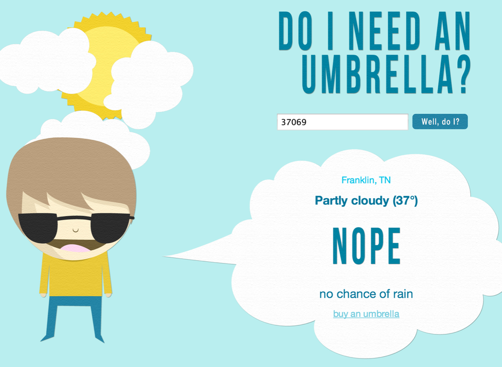 doineedanumbrella.com