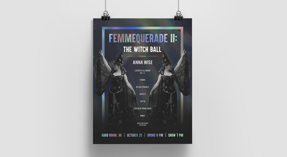 Poster for Femmequerade ii: The Witch Ball
