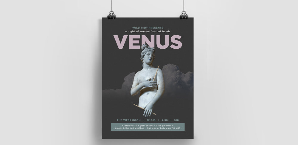 Poster for Venus at the Viper Room, LA