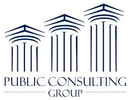 Public Consulting Group logo | freelance editing