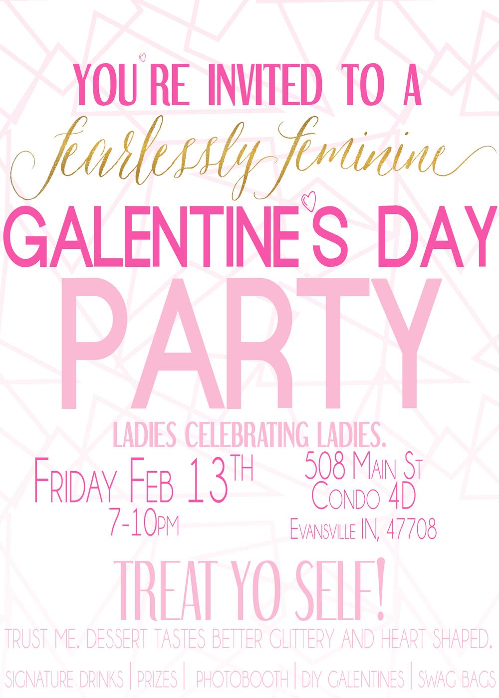 Ladies celebrating Ladies: Galentine's Day | Evansville IN ...