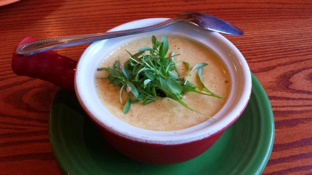Birdsong Jalapeño Cheddar Soup With Jalapeño Baco