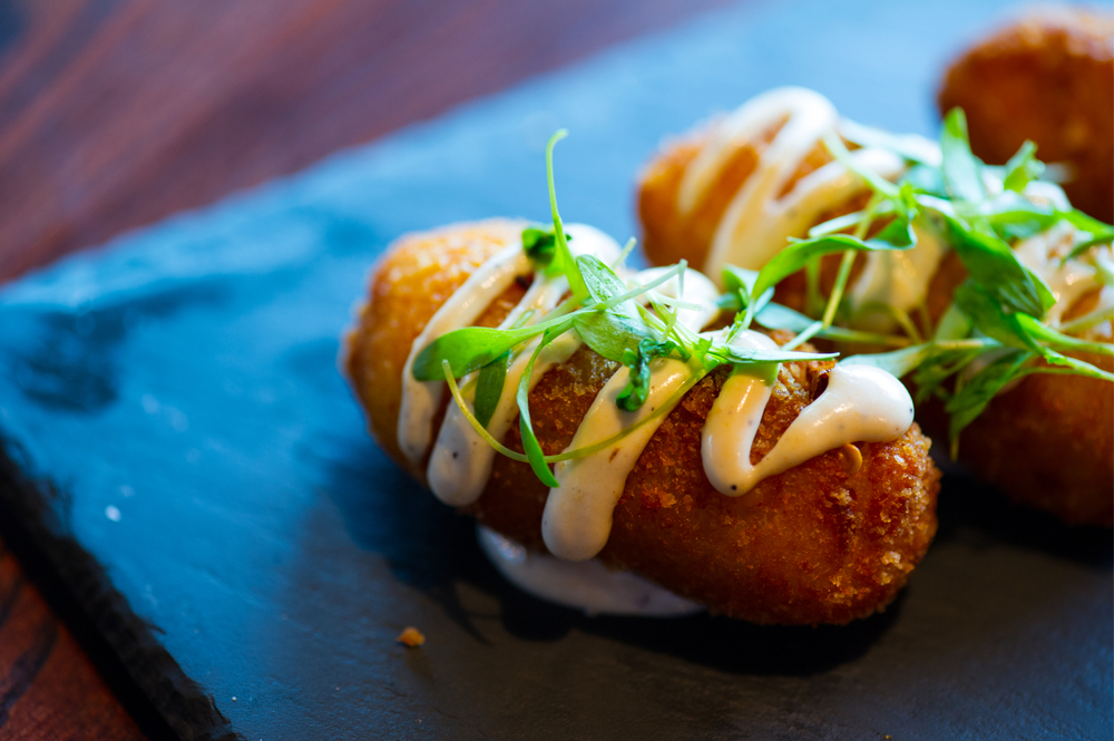 Crab And Goat Cheese Croquetas