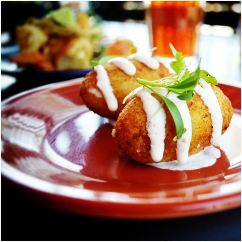 Crab & Goat Cheese Croquetas