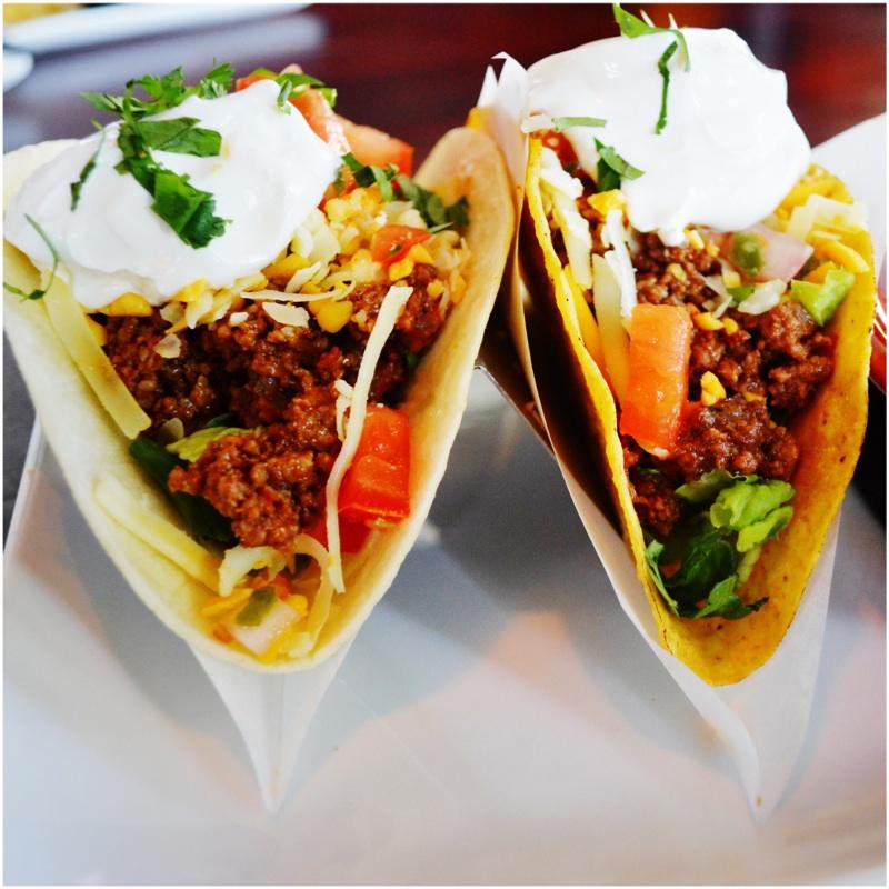 2 Ground Beef Tacos