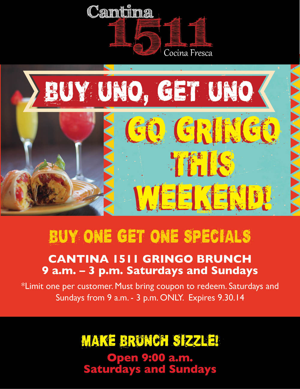 Gringo Brunch Special