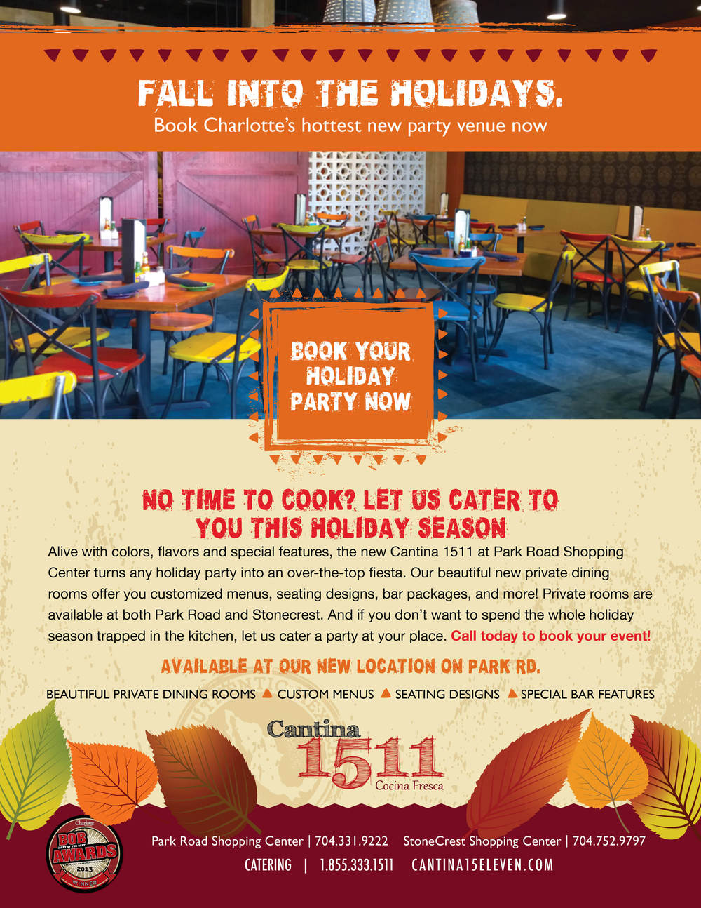 Cantina 1511 - Fall Into THe Holidays