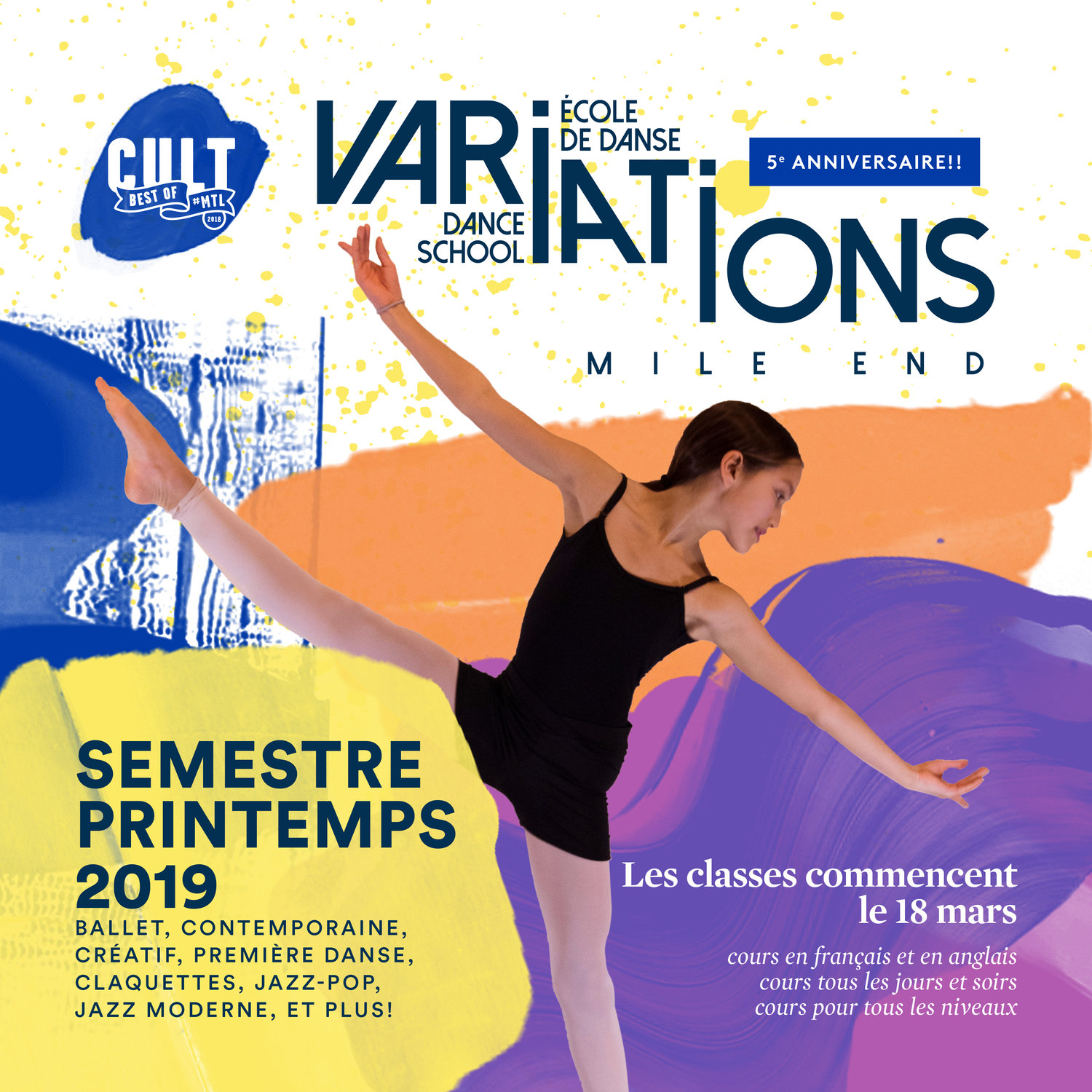 Variations Mile End ecole de danse variations mileend dance school e9b019cad98