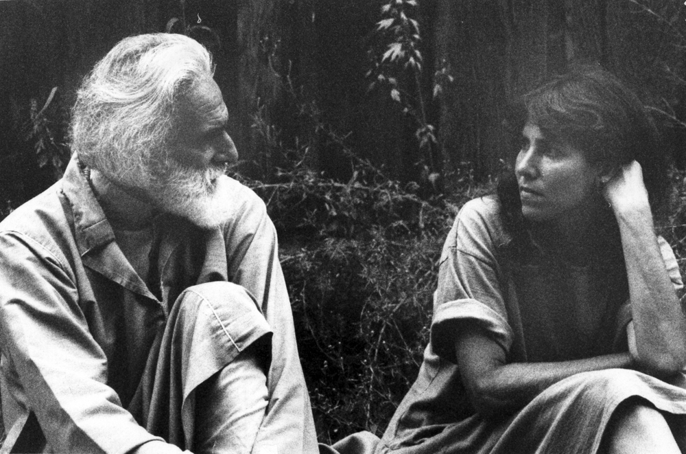 Pir Vilayat Khan and Elizabeth Lesser, 1991