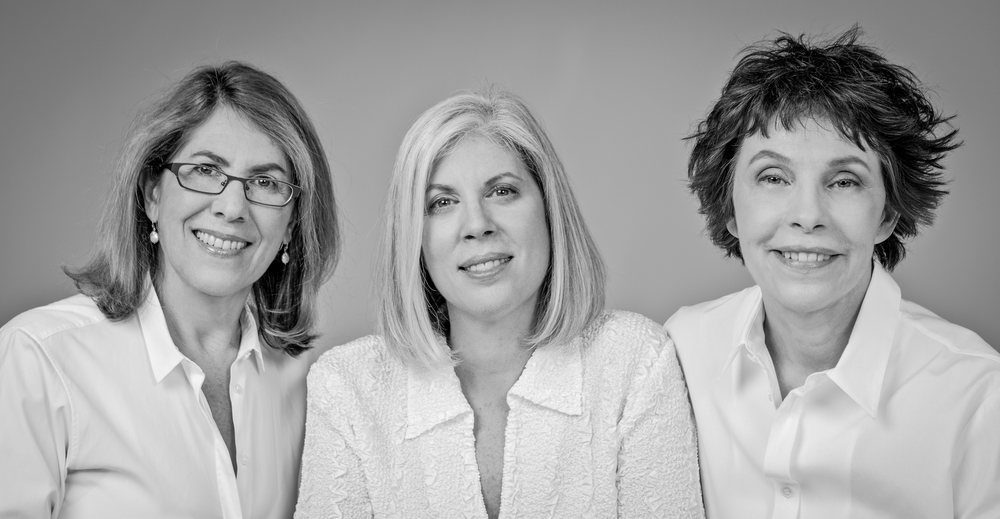 Omega Women's Leadership Center's Founders - Elizabeth Lesser, Carla Goldstein and Sarah Peter