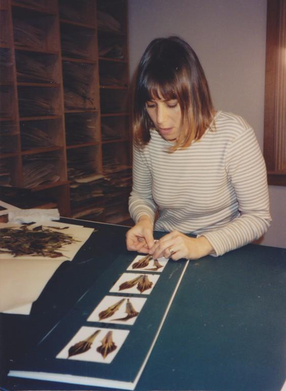 Maggie In Her Studio