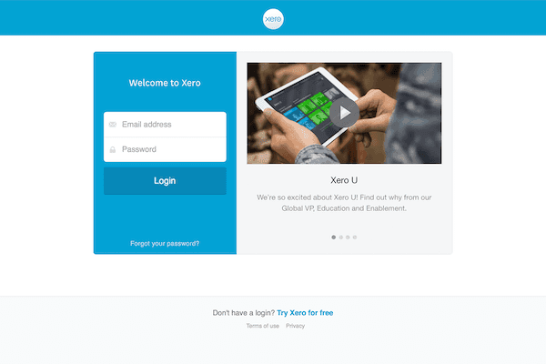 Xero Security and data protection