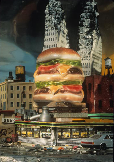 Ken Botto | Big Burger, 1994, From the series Billboards, Limos and Walls