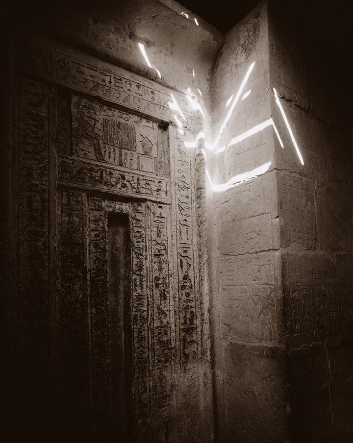 Spirit Door, Egypt 1989, © Linda Connor