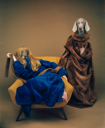 William Wegman, Mother/Daughter, 1994/2009