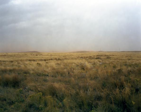 Storm Over Field, Laramie , Wyoming, 2005   © Richard Renaldi,