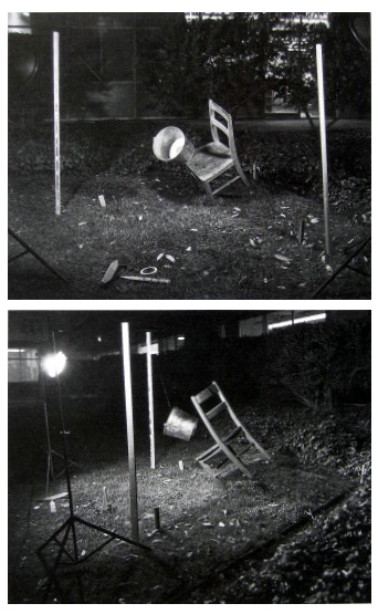 Two Views of One Mishap of Minor Consequence, 1973, Long Beach, CA © Robert Cumming