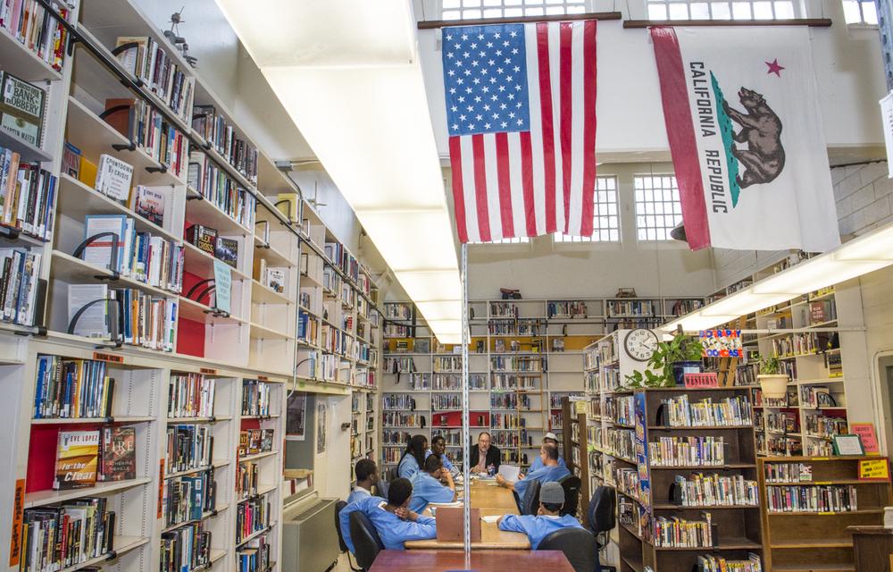 Deuel Prison Library, San Joaquin County         © Robert Dawson