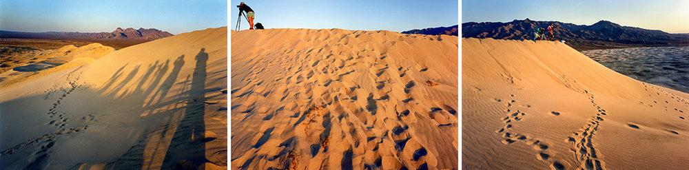 © Robert Dawson  Kelso Dunes Near Zzyzx (triptych)