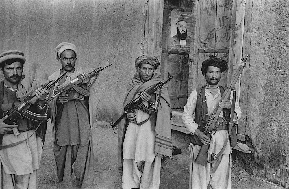 ©Ed Grazda   Mujahideen at Wageeza, Afghanistan 1983
