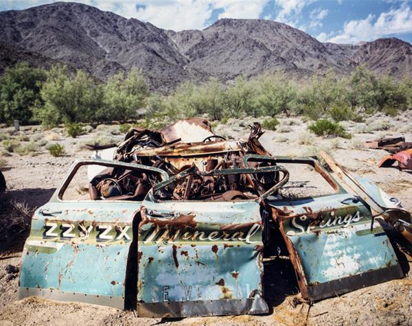 © Robert Dawson, Car Doors Zzyzx, California