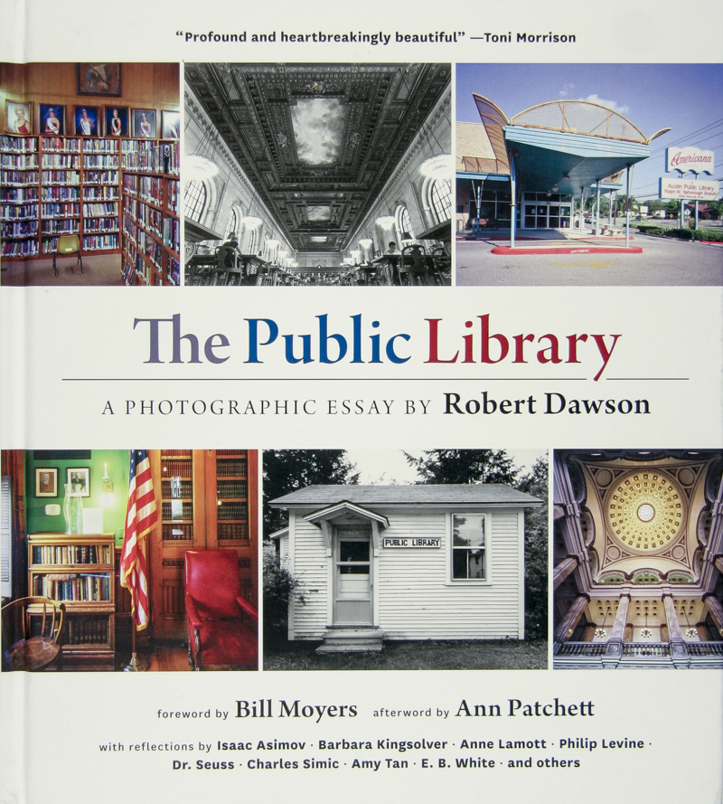 © Robert Dawson    Book Cover, The Public Library Project