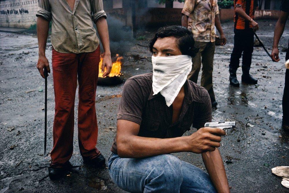 © Susan Meiselas   Street Fighter, Nicaragua, 1979