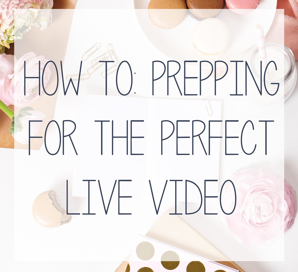 How to make sure you and your business are ready to go live on video.