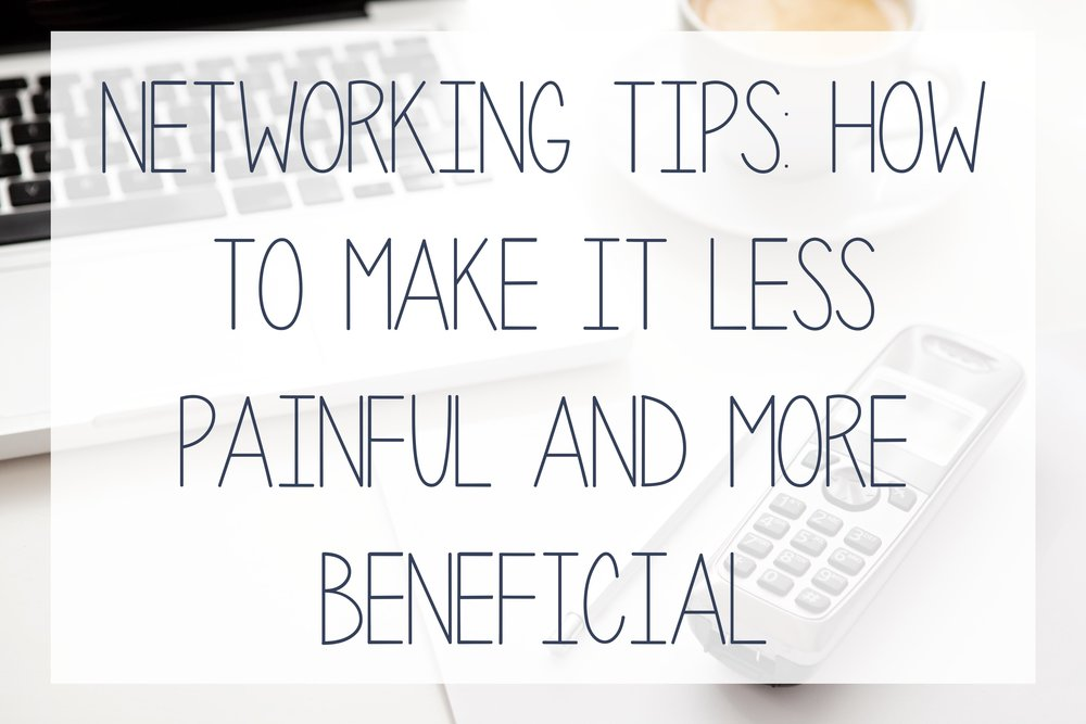 Tips on how to network successfully