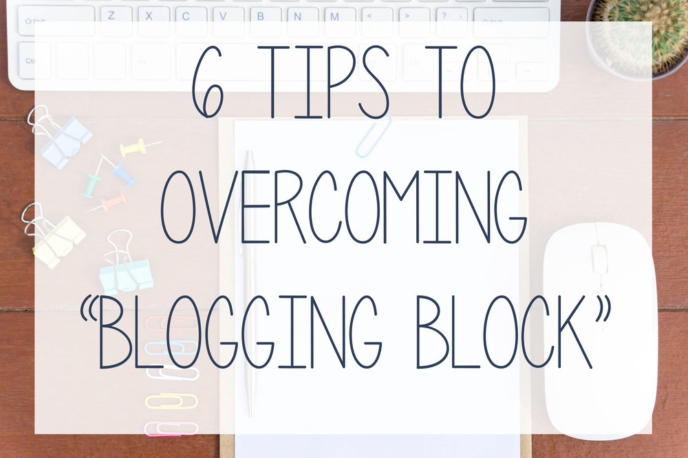 6 tips to overcome blogging block from Hub Digital Marketing, Rhode Island.