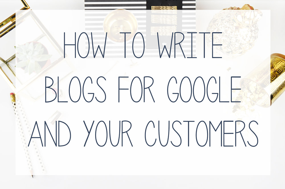 writing blogs that appeal to potential customers and for SEO from Hub Digital.