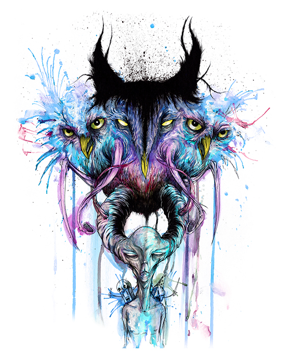 Alex Pardee S Land Of Confusion