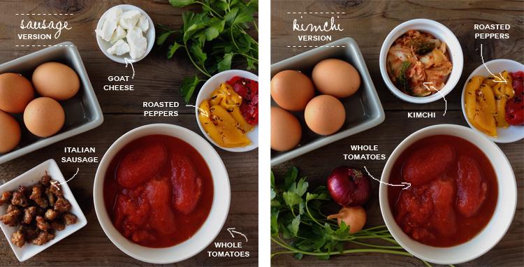 Sprig_of_thyme-BakedEggs_kimchi_sausage_Ingredients.jpg