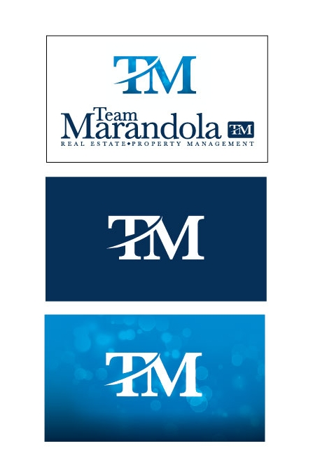 TEAM MARANDOLA REAL ESTATE COMPANY LOGO & BRANDING DESIGN