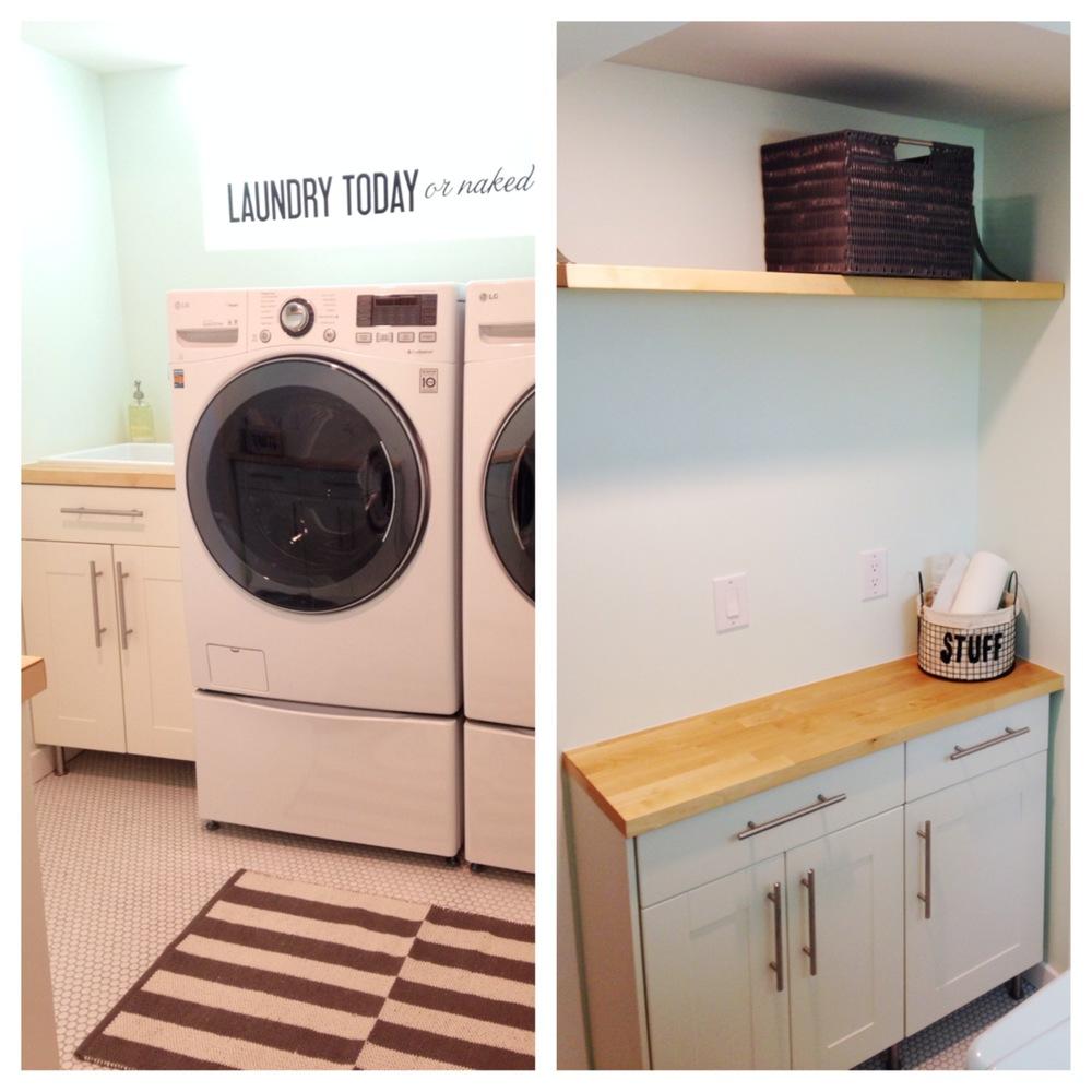 Laundry Room Reno - Ikea