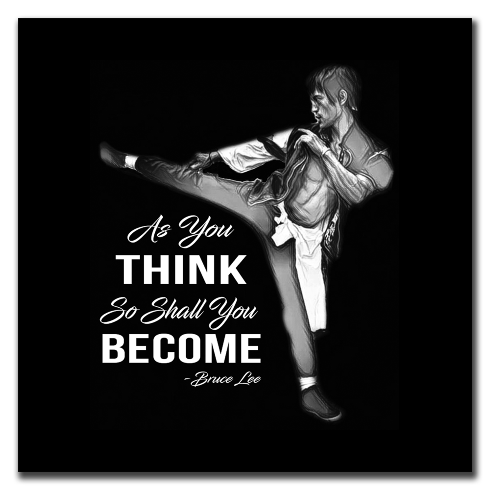 THINK & BECOME / WHITE