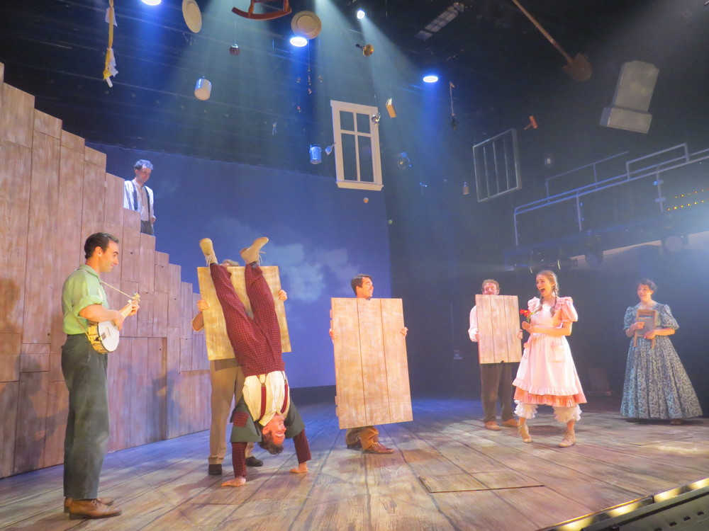 Becky Thatcher in  The Adventures of Tom Sawyer at the Winnipesaukee Playhouse