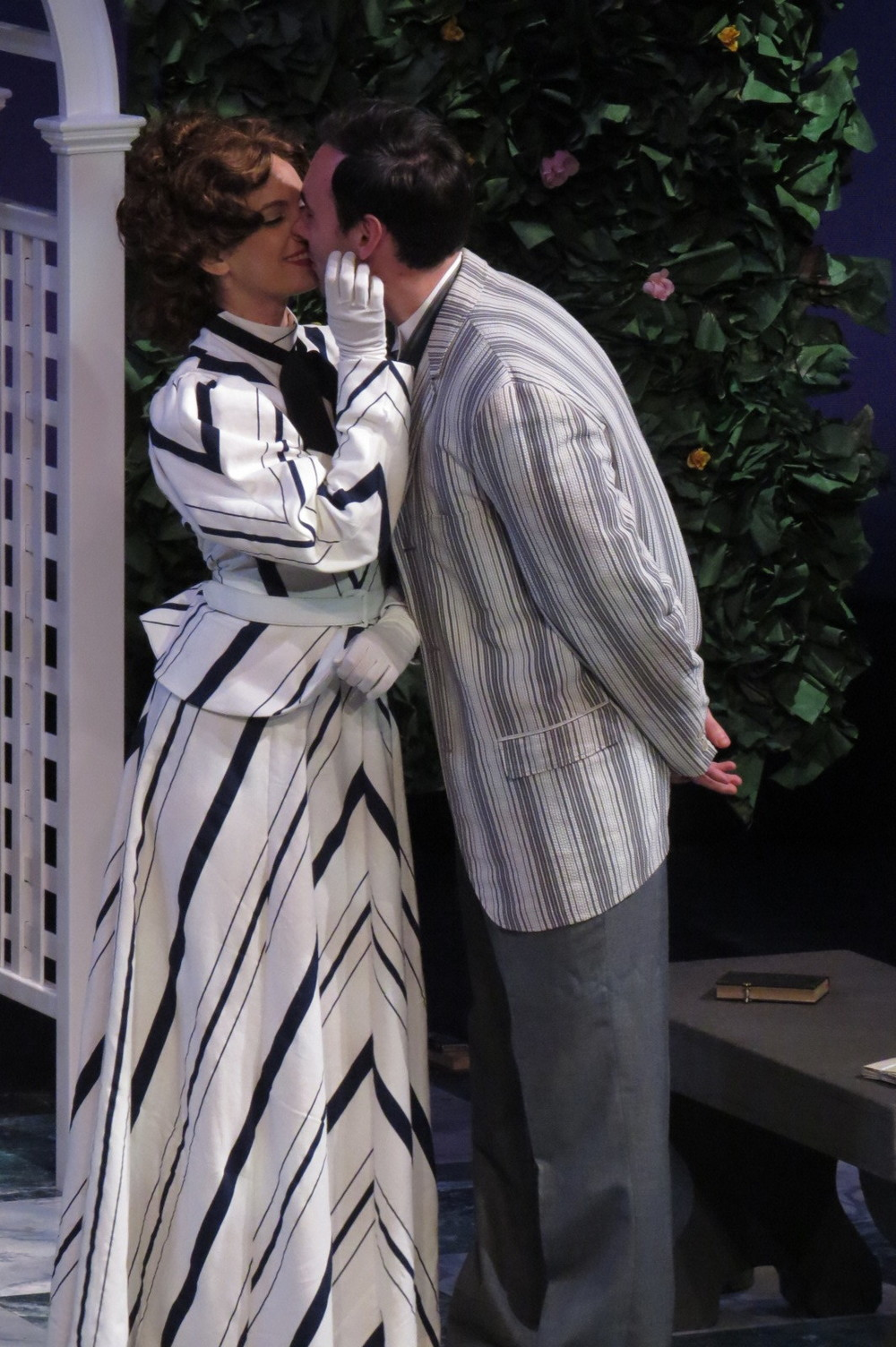 Gwendolen Fairfax in  The Importance of Being Earnest  at the Winnipesaukee Playhouse