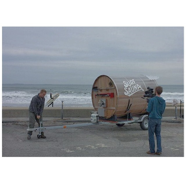 Projects a-brewing #SurfSauna #Surf #comingsoon