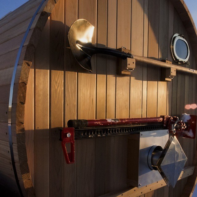 #adventure #sauna #surf #adventuremobile #surfsauna