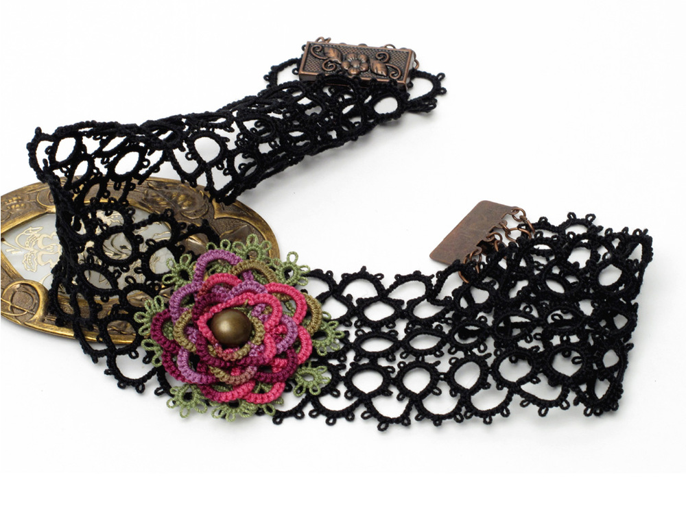 Tatted Lace Necklaces