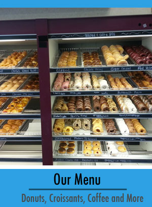 donutsville donuts croissants coffee and beverages
