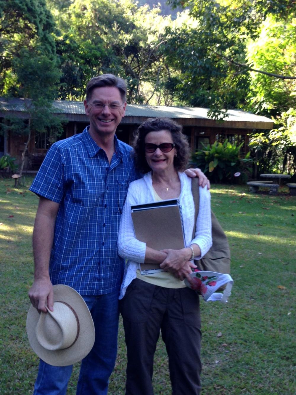 John and Carol Cornwell