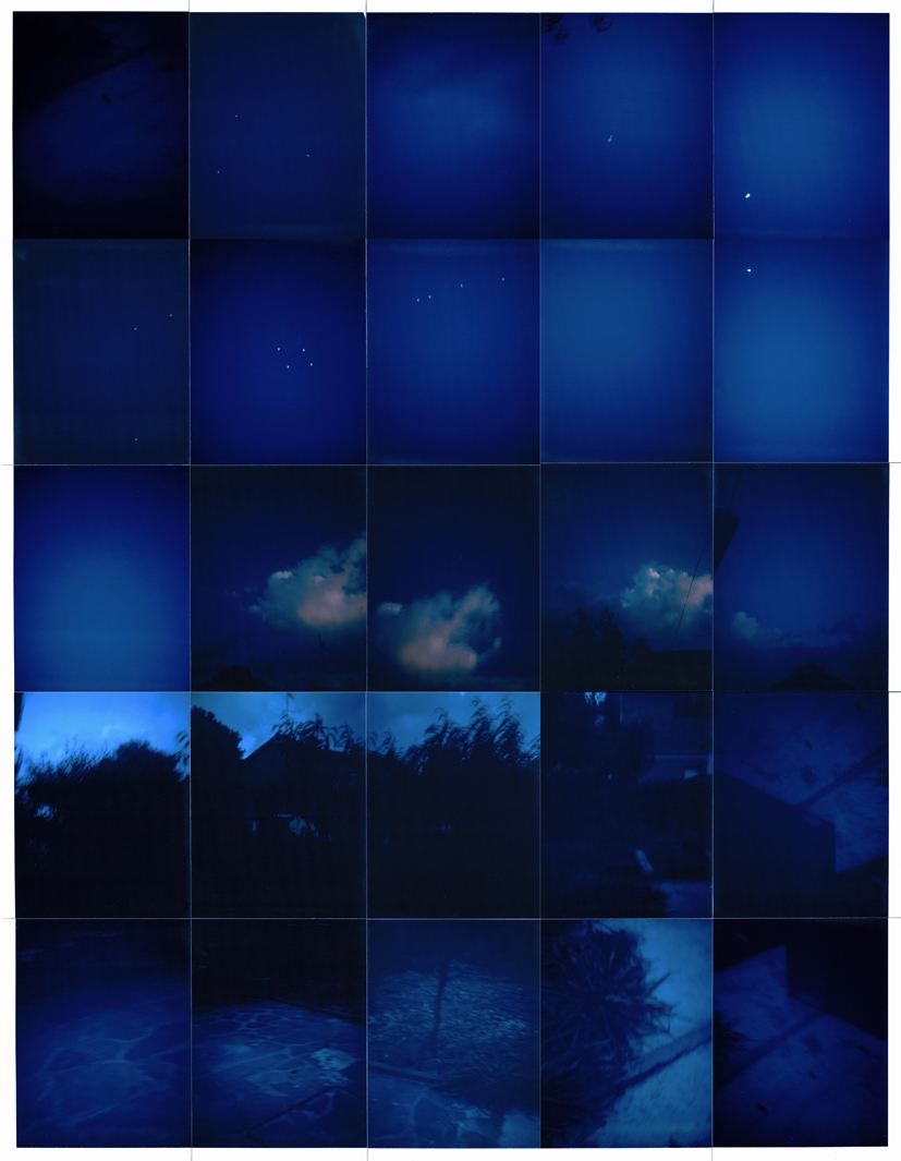 Images produced with a 1970 Polaroid Colorpack III on Fujifilm FP3000b and FP100c film between 2010 and 2014.