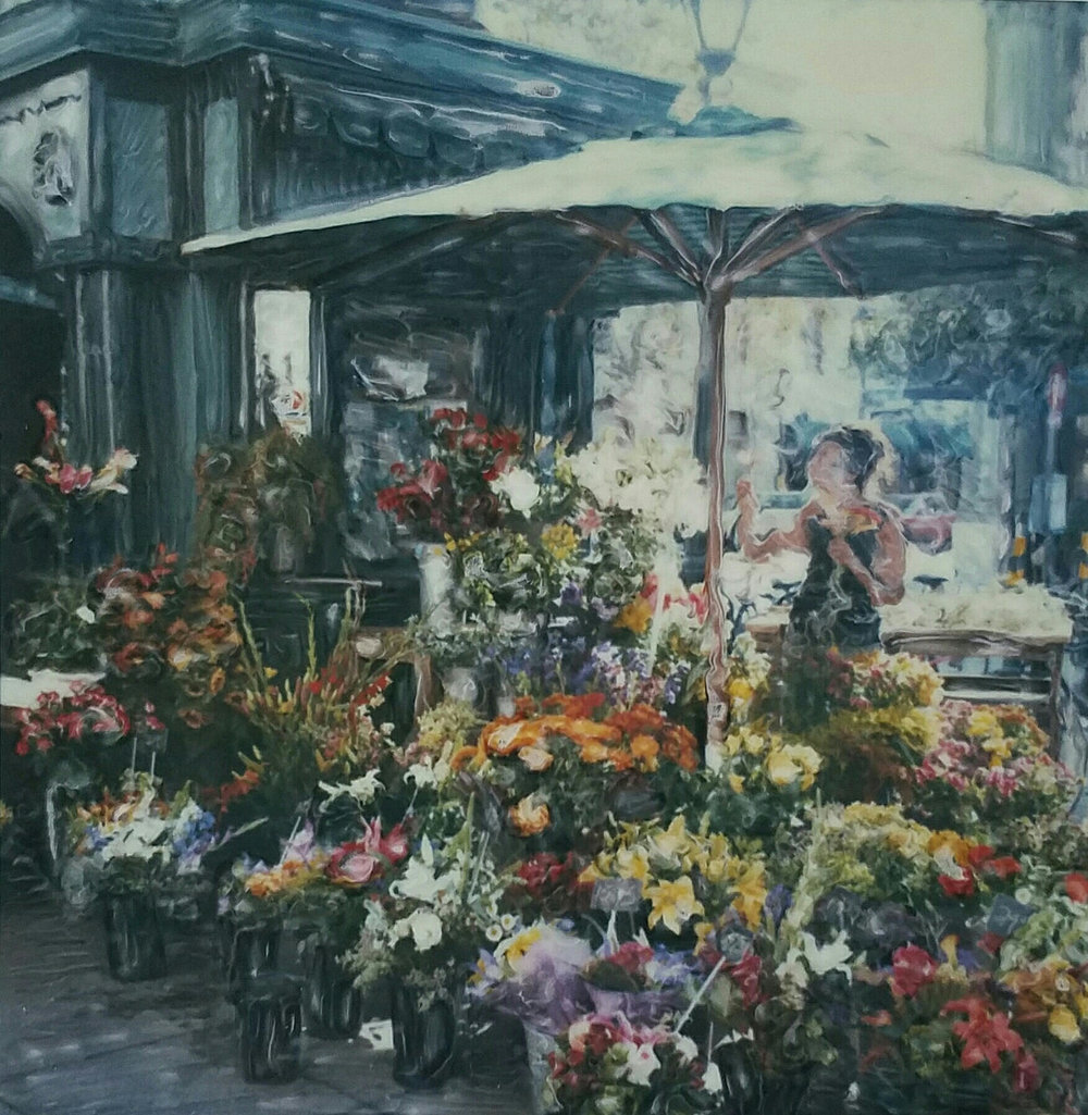 """Flower Market"" by Ashley Talbert 