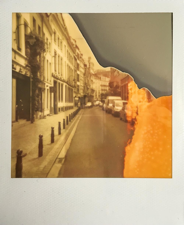 """Rue Des Chartreux, Bruxelles"" by M. Hammad"
