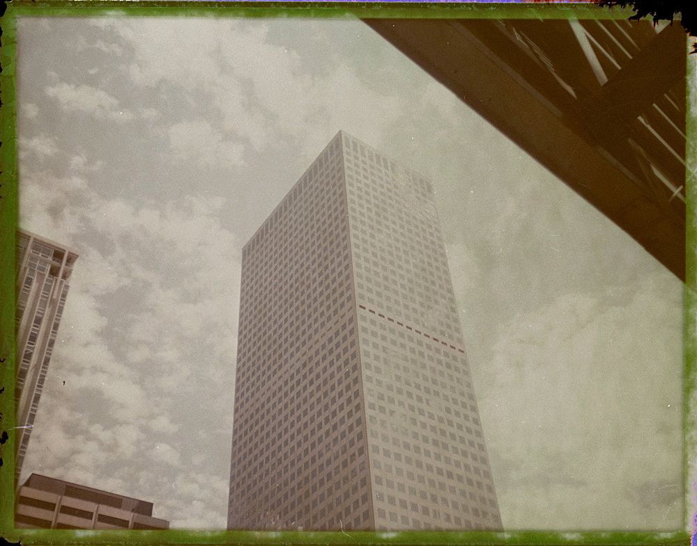 """Bleached Monolith - Downtown Denver, CO"" by Tania Kaaz"